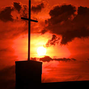 cross_sunset